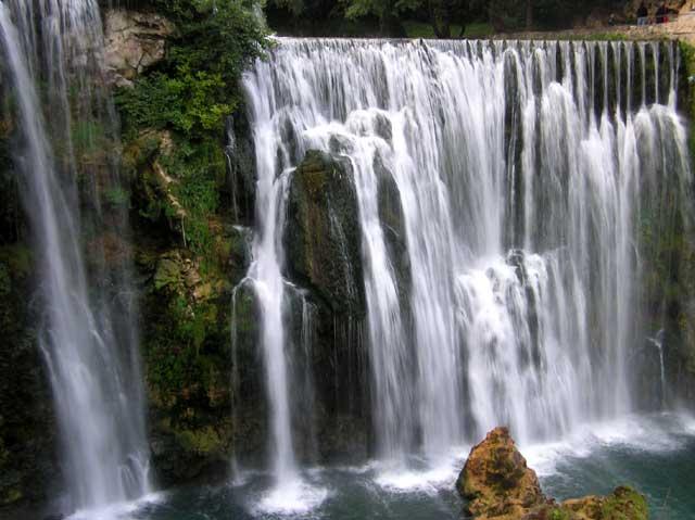 Najlješe more/ rijeke Jajce-slapovi-Plive