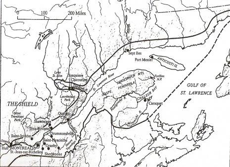 Francuska Kanada Obiljezja Kulturne Regije Geografija Hr